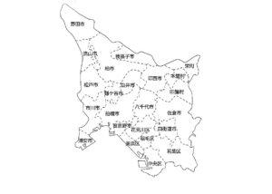 千葉県マップ