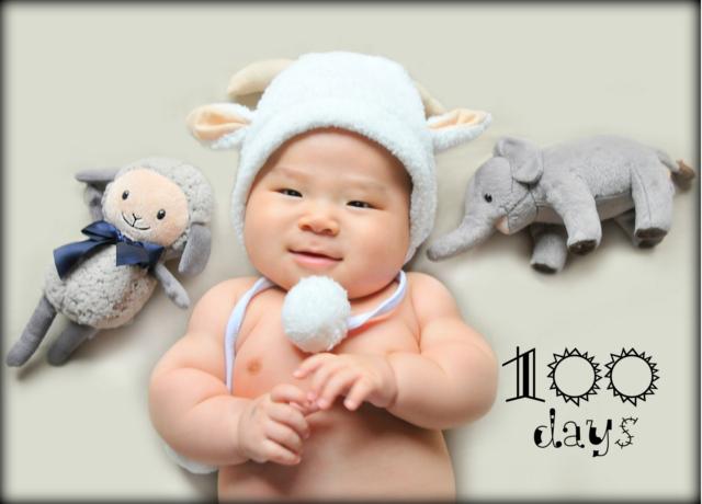 100日記念を写真に残そう!赤ちゃんのペースに合わせて撮影ができる出張撮影
